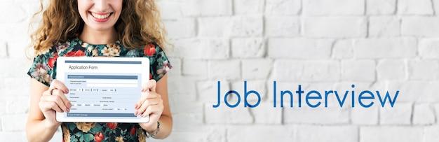 Assunzione di lavoro vacancy team intervista carriera reclutamento
