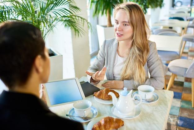 Job interview candidate Premium Photo