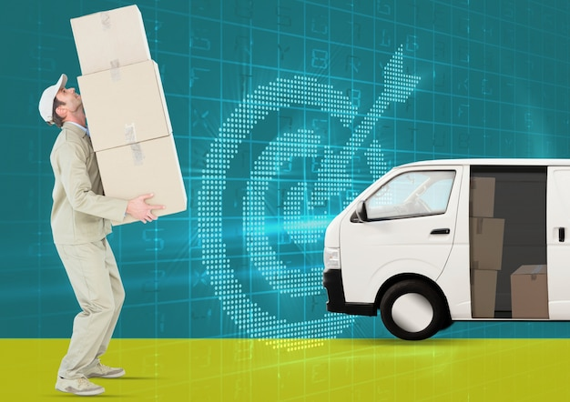 Job profession door package environment