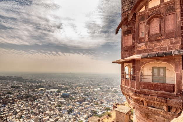 Jodhpur fort sunrise