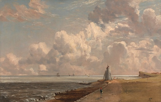 John canvas artistic oil painting constable