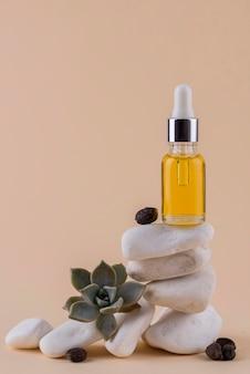 Disposizione contagocce olio di jojoba