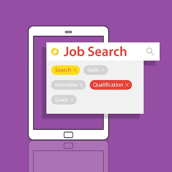 Jon search employment recuritment resume