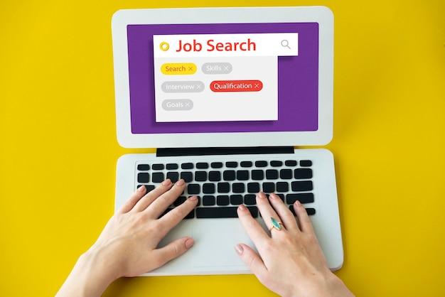 Jon search employment recuritment curriculum