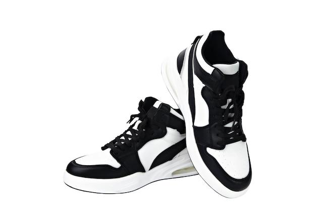 Jordana sports shoes black and white isolate