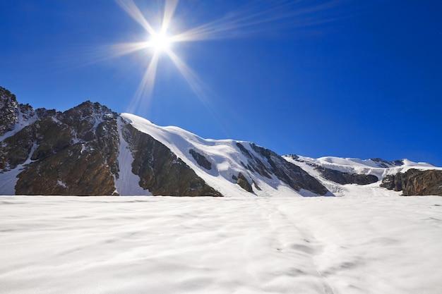 Journey through the altai mountains to aktru.