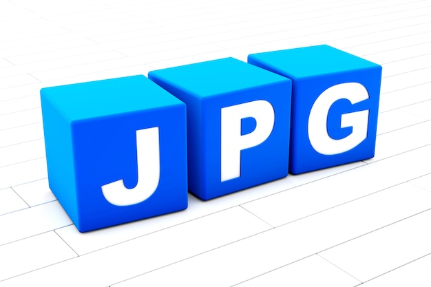 Jpg word illustration