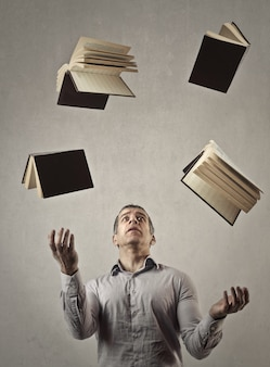 Juggling with books