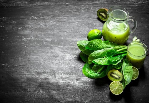 Сок из овощей и фруктов.