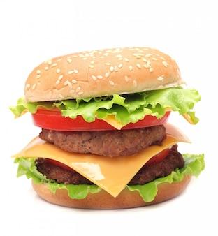 Сочный аппетитный гамбургер