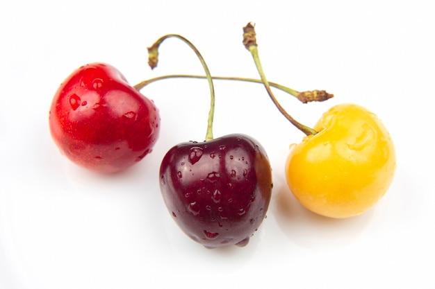 Juicy cherry berry isolated