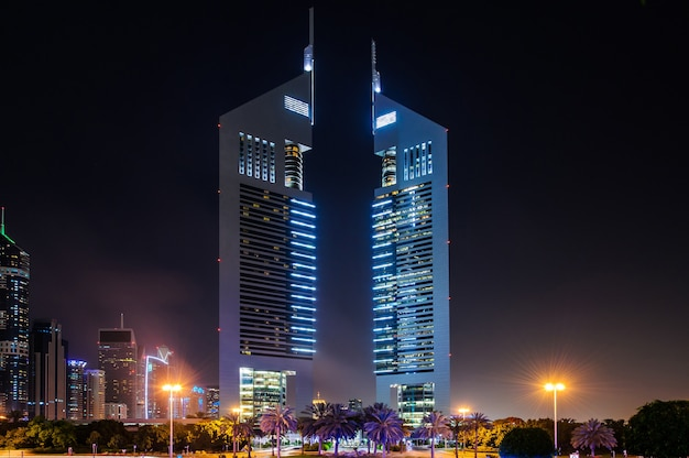 Jumeirah emirates towers, dubai's finest city hotel, is located in commercial business district.