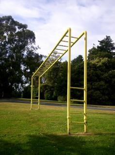 Jungle gym, objects
