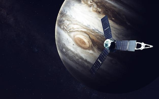 ジュノー宇宙船と木星