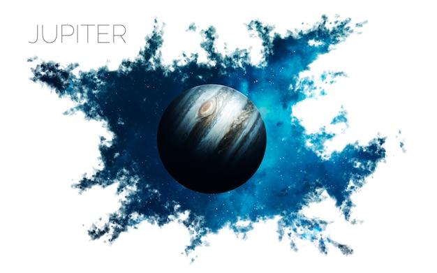 Юпитер в космосе Premium Фотографии