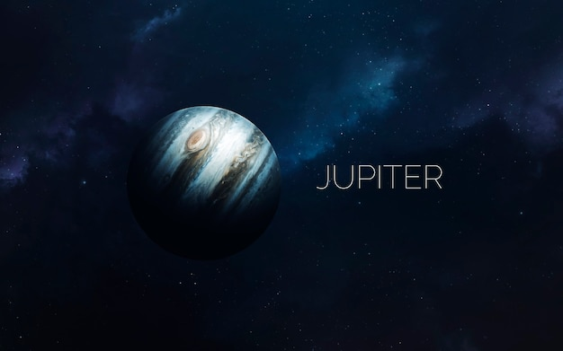 Jupiter in space