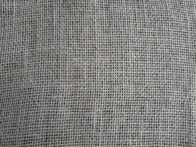 Фактура джутовой ткани, плотная ткань