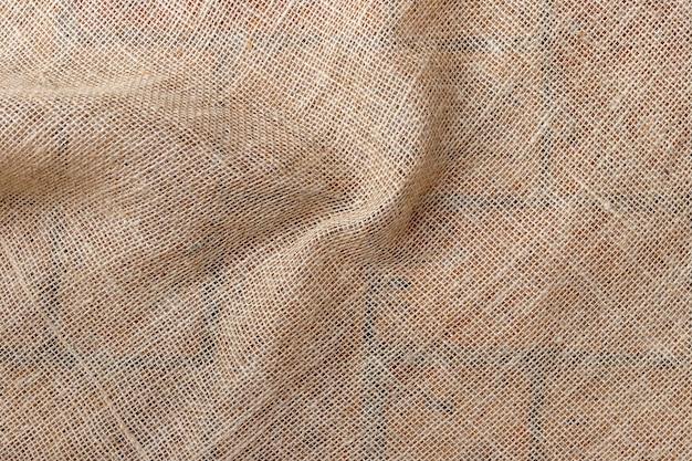 Jute fiber fabric with shirring