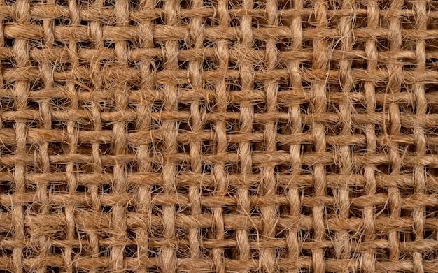 Jute hessian sackcloth canvas woven texture background