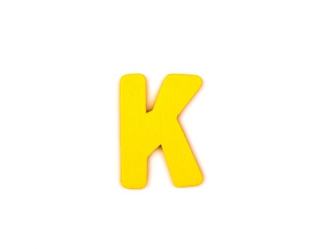 Декоративная буквица k