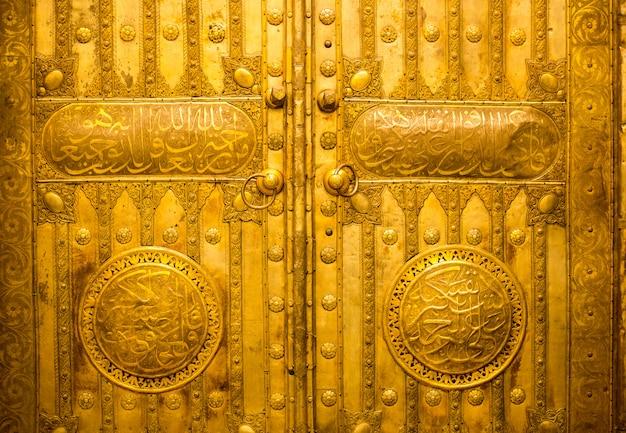 博物館に入れられた古いkaaba扉