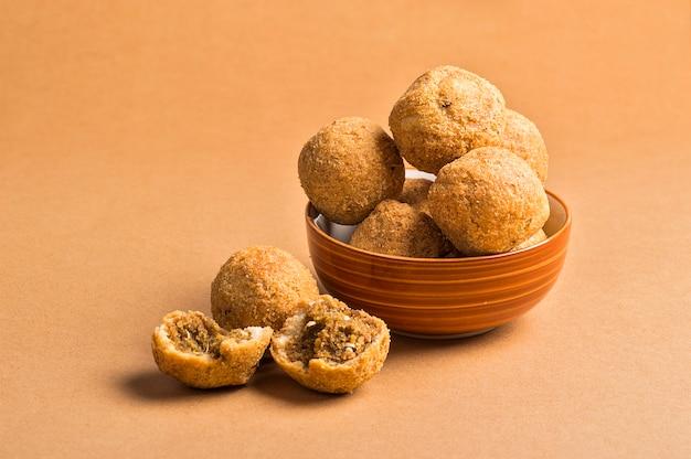 Kachori or kachauri or kachodi or katchuri is a spicy snack