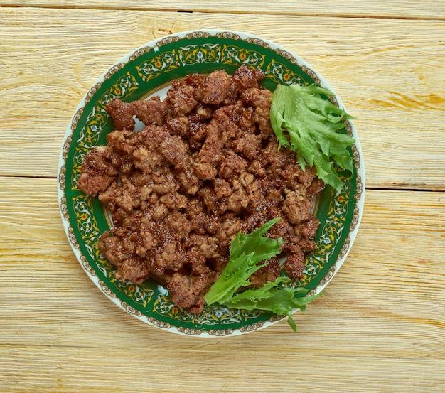 Качри кима - традиционное мясное блюдо с индийского субконтинента.