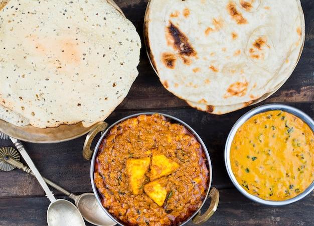 Индийская кухня kadai paneer