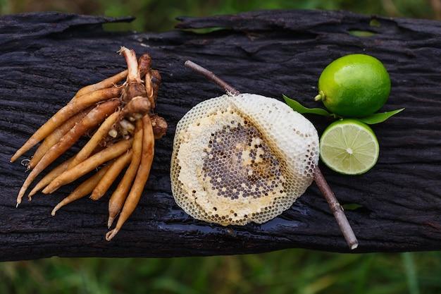 코로나19 예방을 위한 캠페리아, 꿀, 레몬 허브