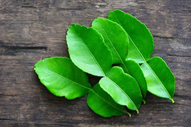 Листья каффир лайма листья бергамота