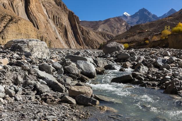 Kali gandaki river valley