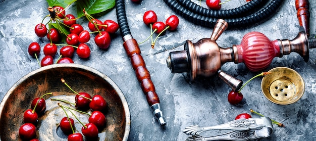 Kalian with tobacco taste of cherry