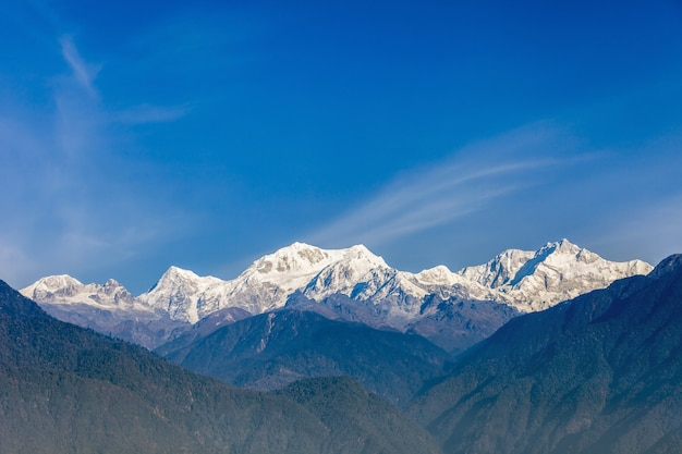 Kangchenjunga mountain view