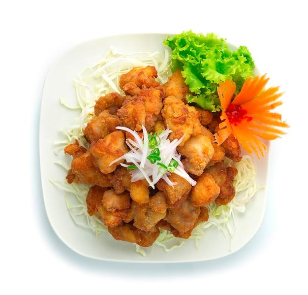 Цыпленок, японская жареная курица karaage