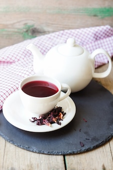 Karkade tea