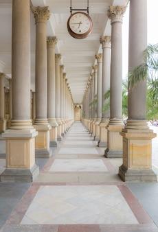 Karlovy vary mill colonnade corridor