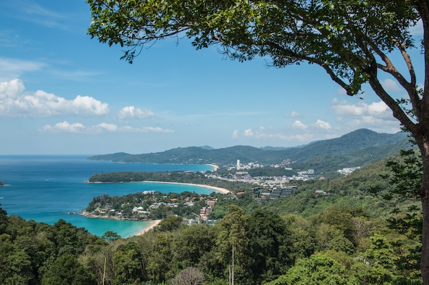 Kata and karon beaches phuket thailand