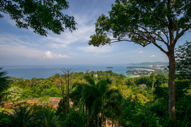 Kata view point phuket thailand.