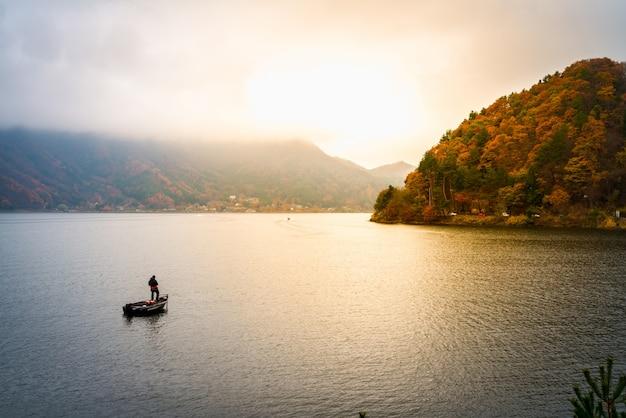 Kawaguchiko озера япония