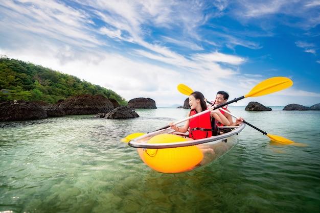 Kayak in koh kham
