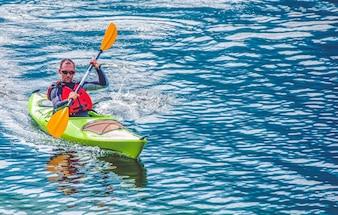 Kayak Lake Tour