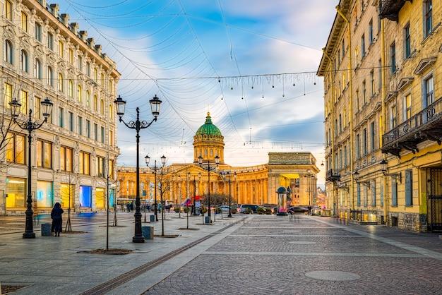 Казанский храм - величайшее архитектурное творение. санкт-петербург. россия.