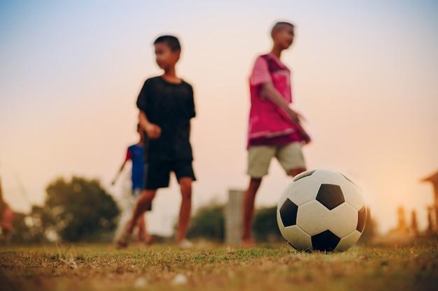 Kdsはサッカーサッカーを楽しんで