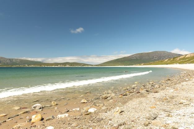 Кил-странд, остров ахилл, ко. мэйо, ирландия Premium Фотографии