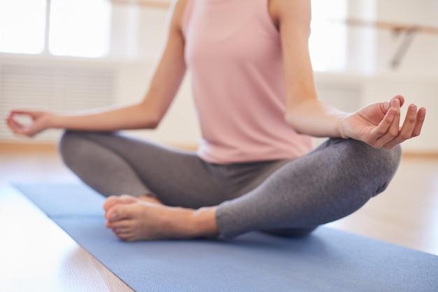 Keeping calm at yoga