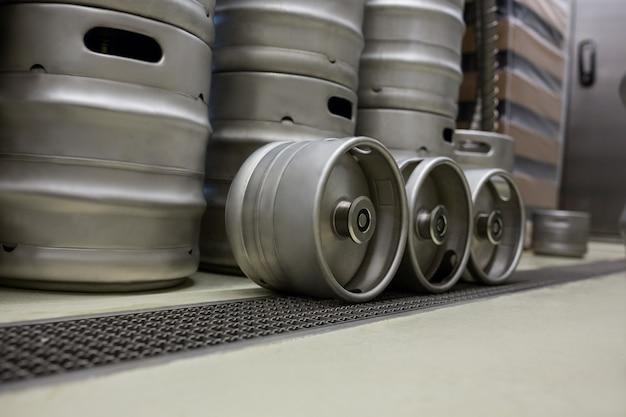 Бочонок в пивоварне
