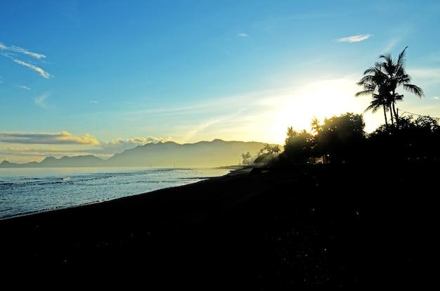 Kelapa beach in dili, timor leste