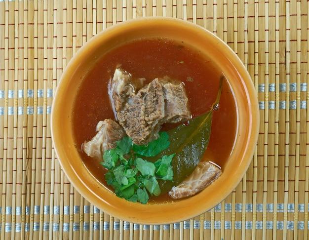 ケレパカ-トルコ産ラムスープ
