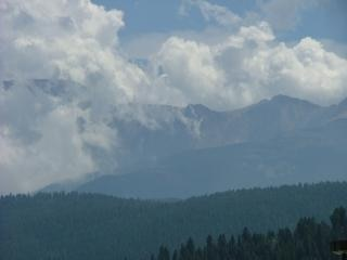 Kenai alaska mountain view