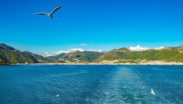 Керкира город корфу на острове корфу в ионическом море